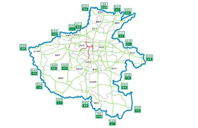 河南禹州市地图